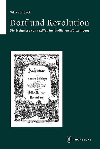 Cover: Nikolaus BACK, Dorf und Revolution